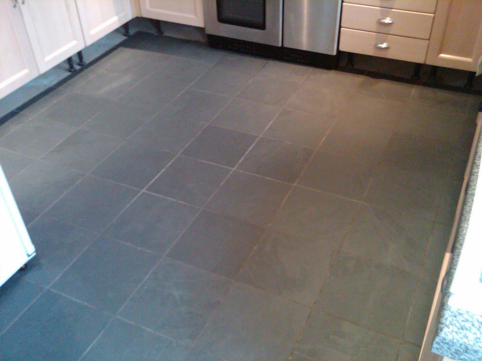 Slate Floor Colour Groutline Repair Art Of Clean Uk
