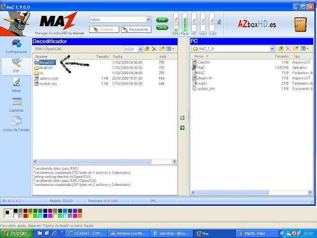 -027 Como configurar CS no Azbox Elite via Mbox.