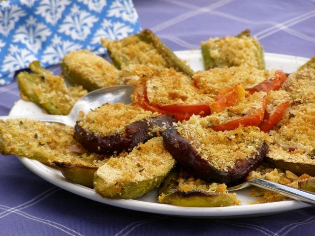 Onion Rings With Bread Crumbs