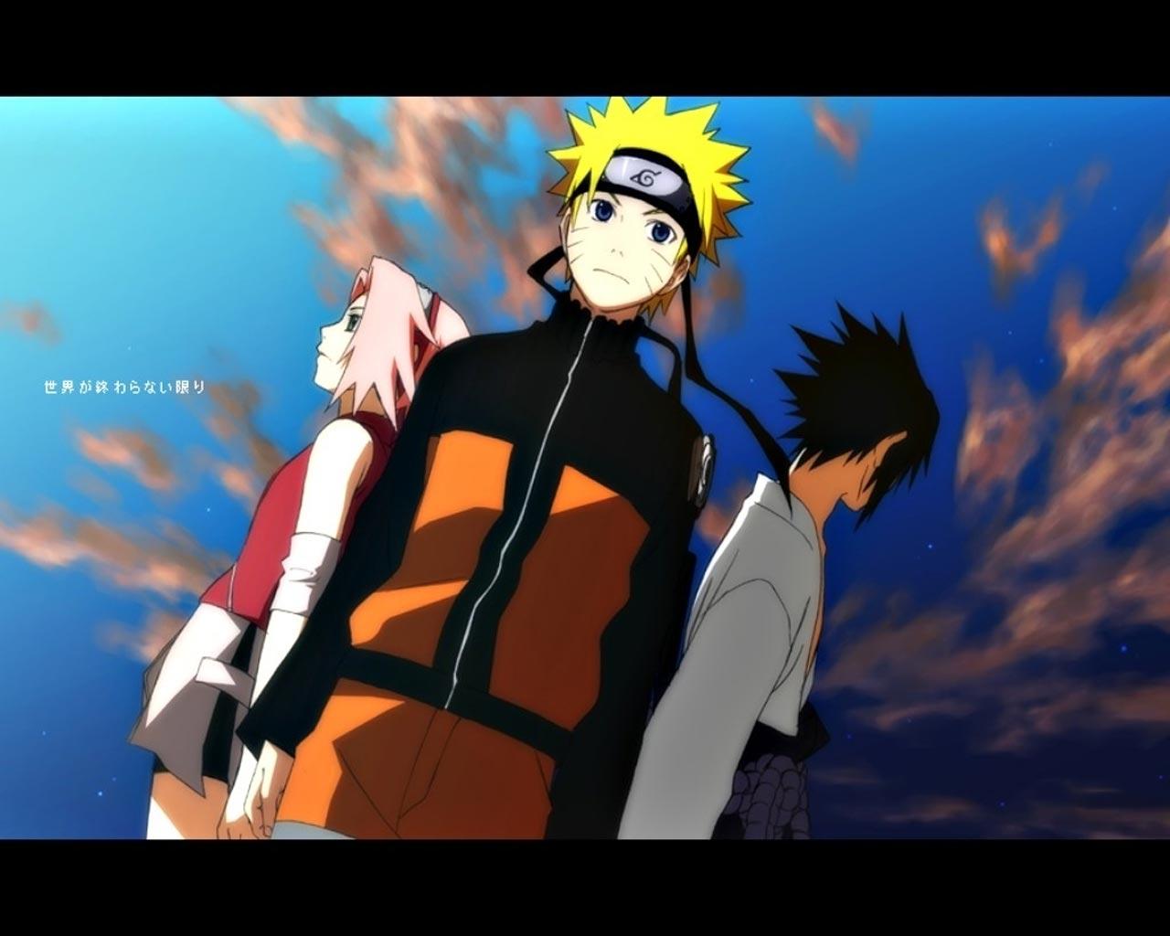 naruto shippuden team 7 naruto vs sasuke naruto shippuden naruto