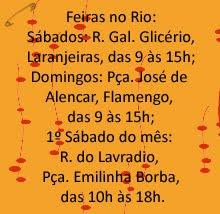 Feiras no Rio