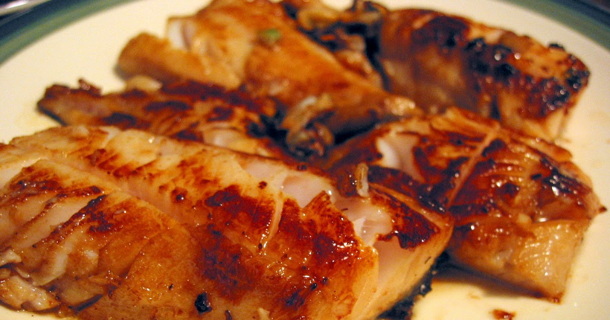 Cooking Corner: Pan-fried Black Cod with Sweet Soy Sauce Glaze