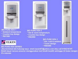 Bio Pure KEN SERIES R.O. Water Purification System