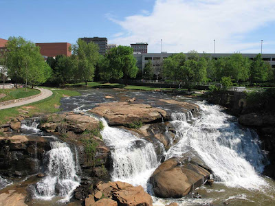 Downtown Condos and Reedy River, Greenville SC
