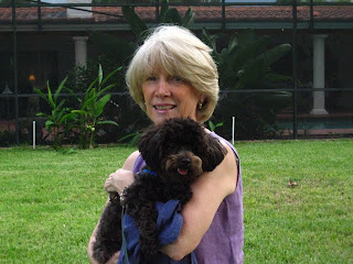 Annette Smith and Snuffy