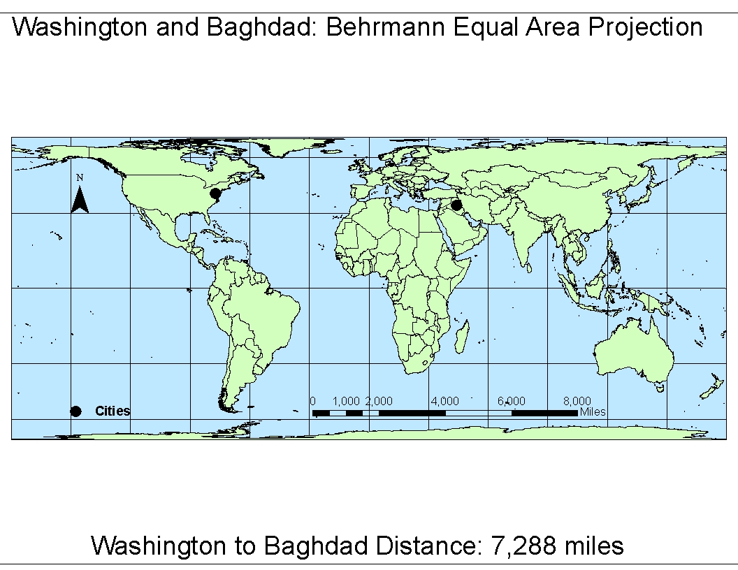 how to draw cylindrical equal area projection