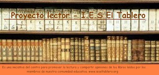Proyecto Lector - I.E.S. El Tablero