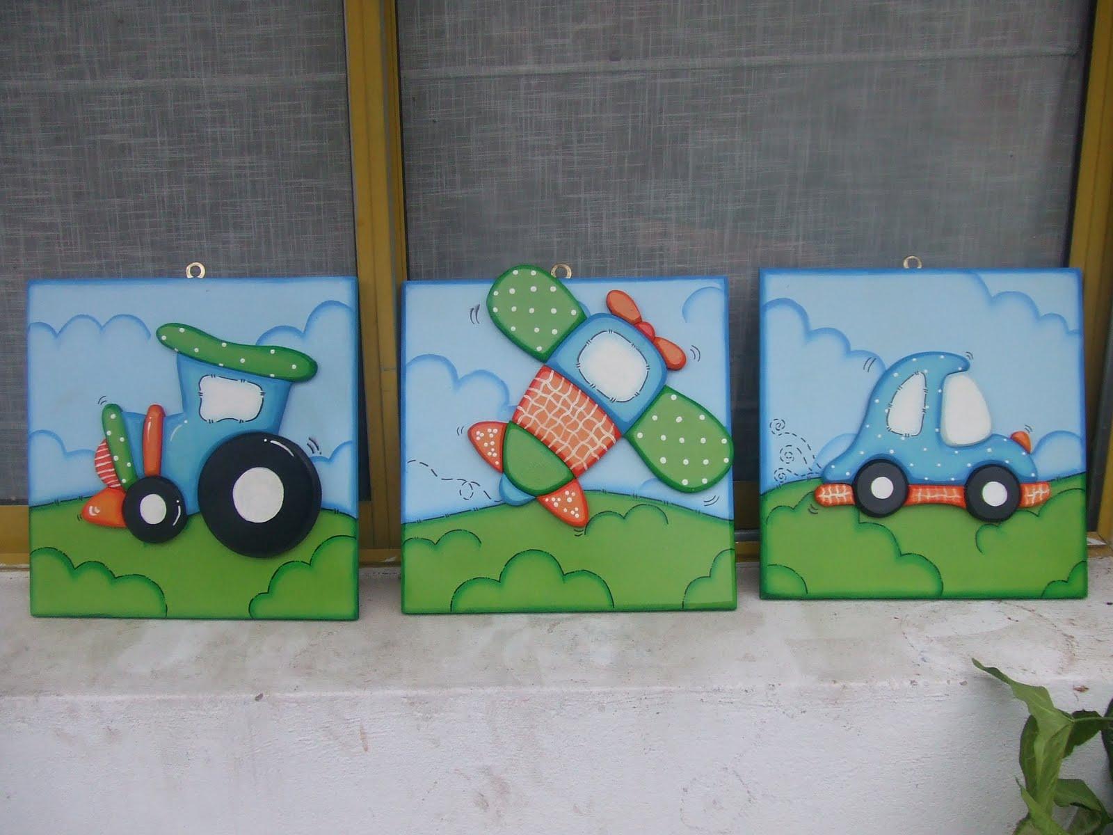 La casita de chilvi decoracion para cuartos - Cuadros para habitaciones infantiles ...