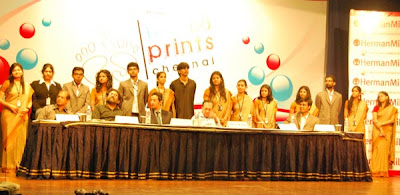 Footprints Chennai team with dignitaries