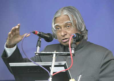 Dr A P J Abdul Kalam, former President of India exhorts voters to choose righteous candidates