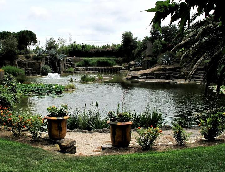 A servian entre béziers et pézenas on peut visiter le jardin saint adrien aménagé dans danciennes carrières de pierres