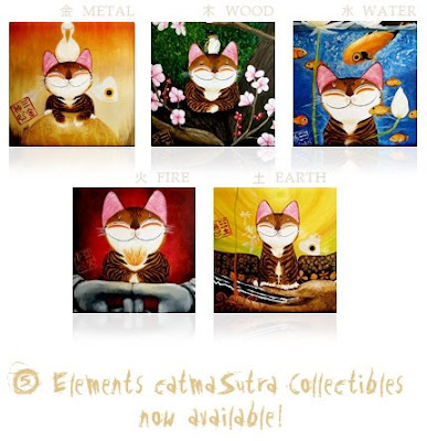 catmasutra cat art by paul koh new cat art collectibles from cat art 387x400