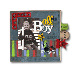 Fancy Pants Chipboard Album