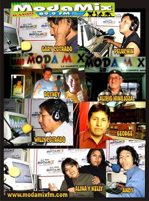 LOCUTORES DE MODAMIX RADIO EN AYACUCHO