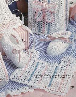 Nenocreaciones Crochet Escarpines De Bebe