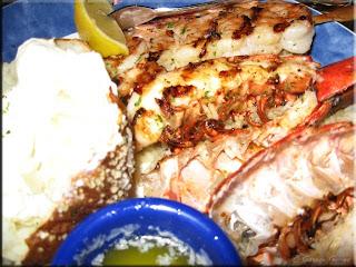 Red Lobster Seafood Platter