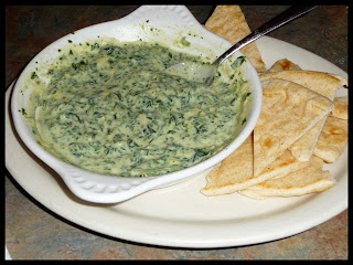hot spinach dip appetizer