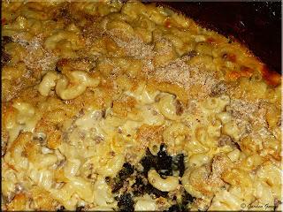 hubby's homemade mac and cheese
