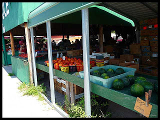 produce stands at Lakeland fleamarket