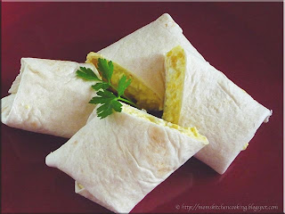 egg salad wraps