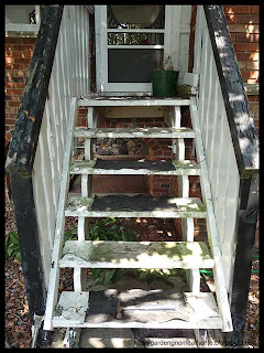 sunporch staircase