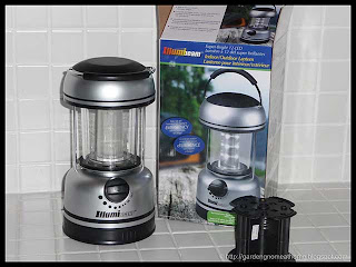 super-bright 12-LED indoor/outdoor lantern