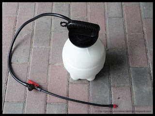 pressurized pump sprayer