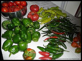 last large vegetable harvest of 2010