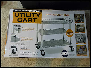 utility cart in the box