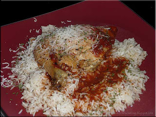 slow cooker chicken with rice
