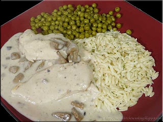 slow cooker chicken in mushroom sauce