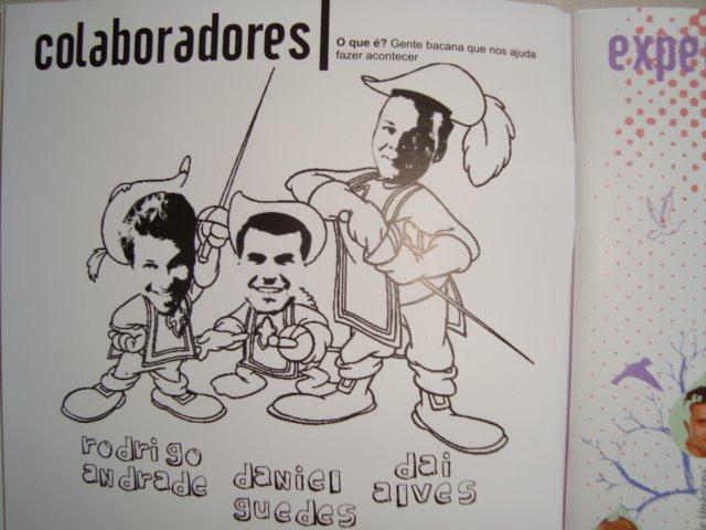 COLABORADORES DA REVISTA POCKET, JÁ CIRCULANDO EM SALVADOR