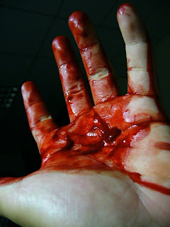 blood imagery macbeth essay