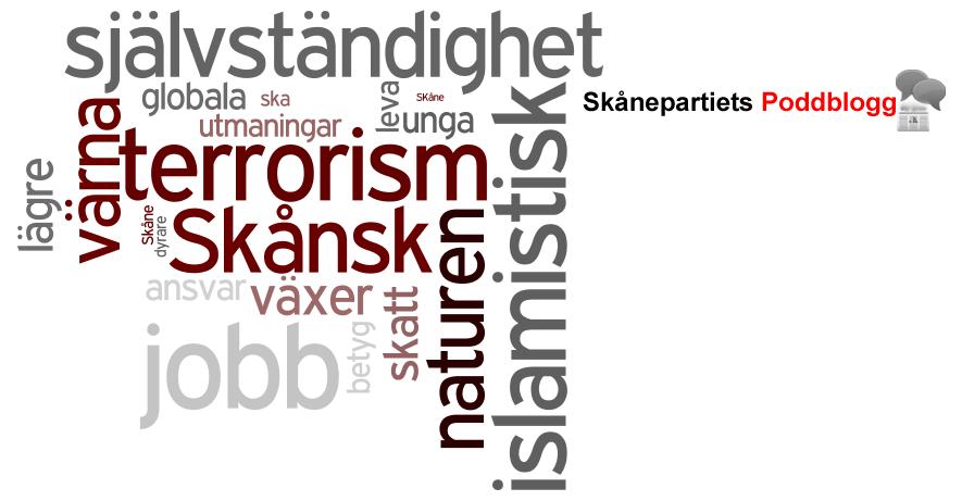 Skånepartiets Poddblogg