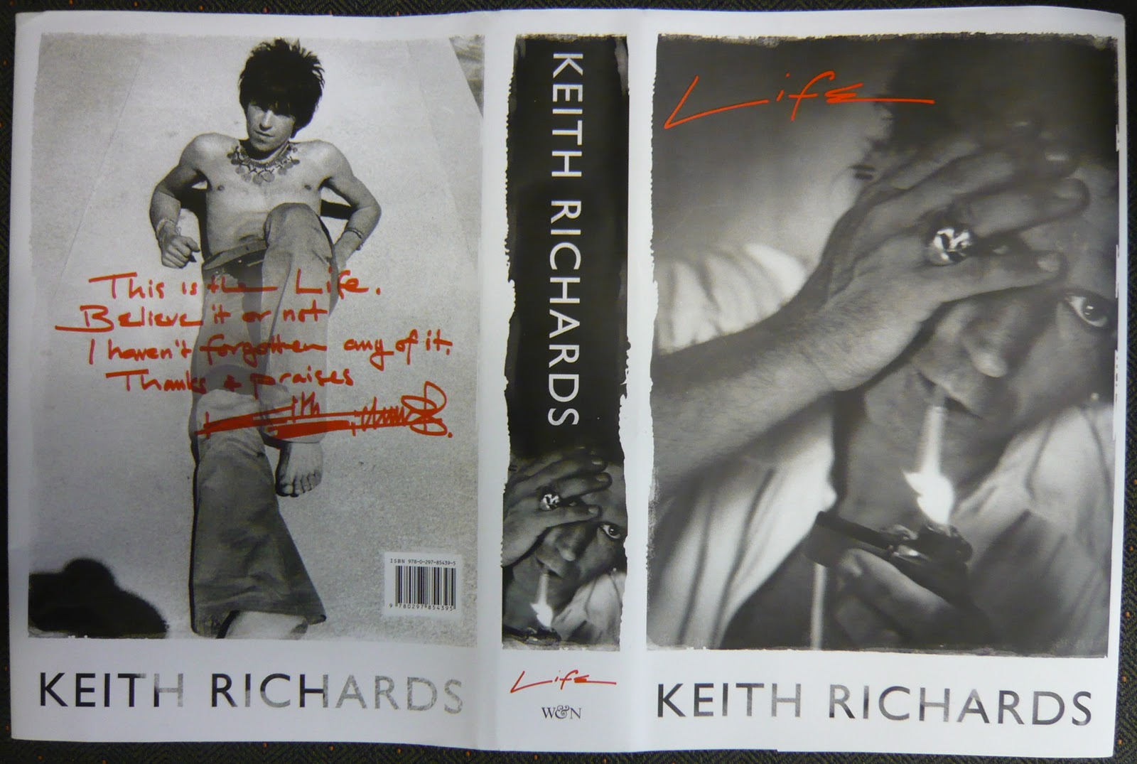keith richards autobiography life