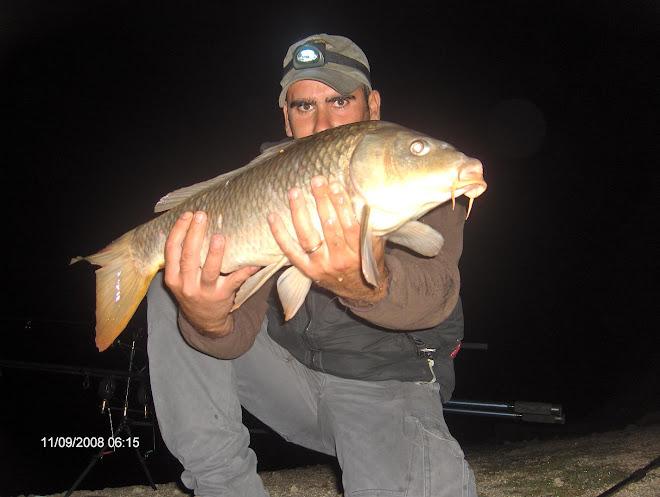 Carpa comum com 4 kg Granjal 11 Setembro 2008