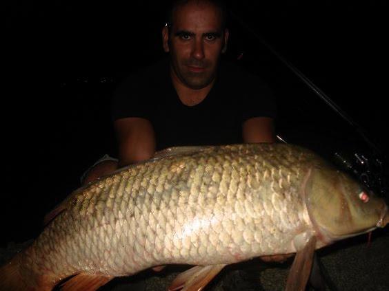 Carpas de 10,6kg e 8 kg 30 Agosto 2009