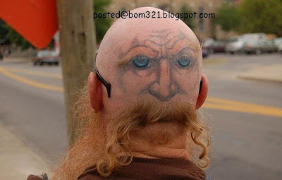 rambut aneh