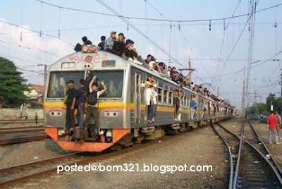 kereta api gila