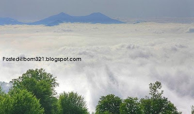 Wilayah Atas Awan Di Iran !