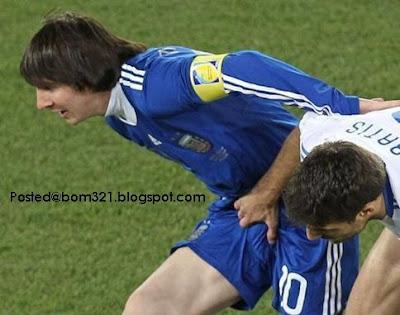 Lionel Messi fail