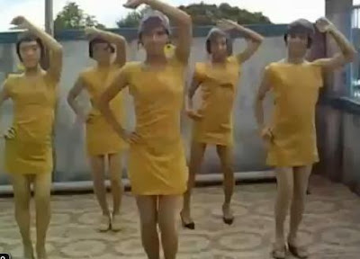 Wonder Girls Nobody - Versi Pondan/Bapok Philippines