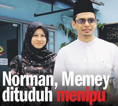 Norman & Memey Dituduh Menipu