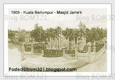 Gambar Kuala Lumpur Dulu-Dulu !