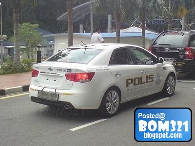 Lagi Gambar Kereta Polis PDRM Naza Forte