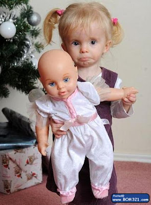 Budak Perempuan Seperti Anak Patung Mainan | kids like a barbie