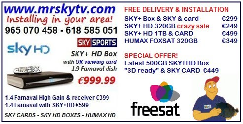 SKY TV GANDIA | SATELLITER TV ENGINEERS GANDIA SPAIN