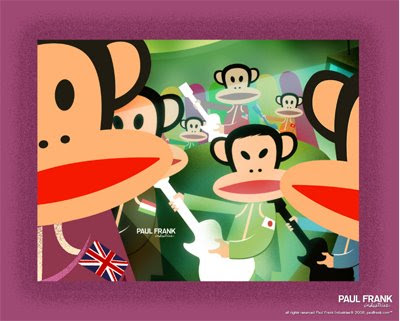 paul frank wallpaper. paul frank wallpaper.
