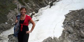 Me With a Glacier