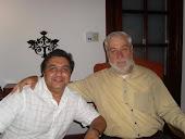 Walter junto al Padre Mamerto
